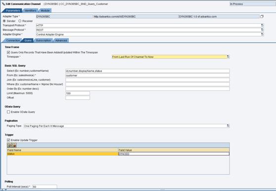 Microsoft Dynamics Screen DYN365BC_PO