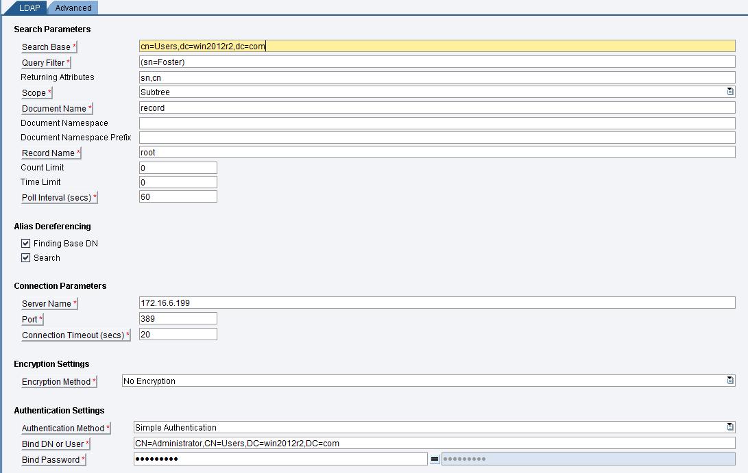 LDAP_Process_Orchestration