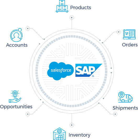SAP circle new with products